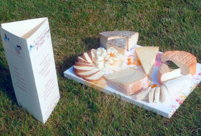 fromagerie bossier : plateau fromages
