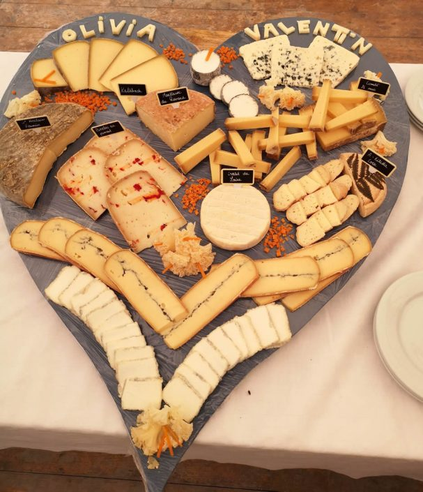 fromagerie bossier plateau fromages mariage